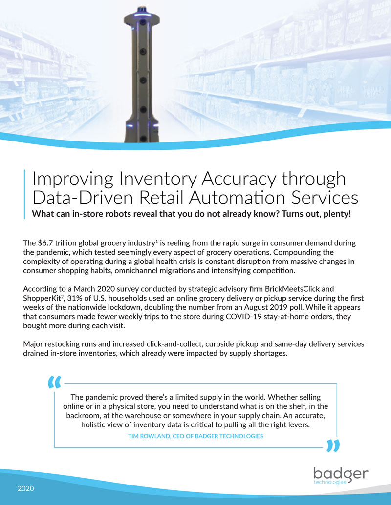 Improving Inventory Accuracy through Data-Driven Retail Automation Services